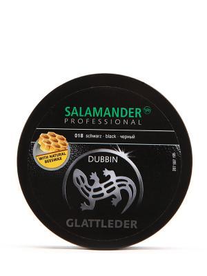Жир для кожи Salamander. Цвет: черный