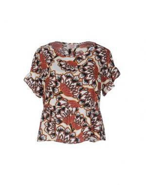 Блузка TWENTY EASY by KAOS. Цвет: коричневый