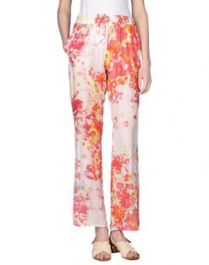 Повседневные брюки MOSAIQUE. Цвет: коралловый