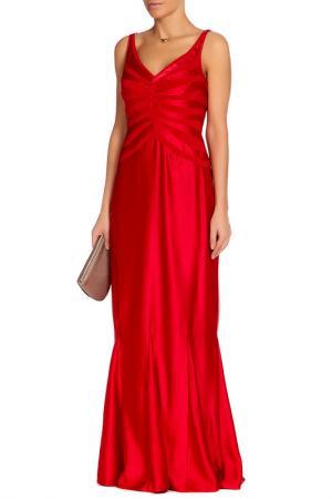 Платье JS Collections. Цвет: красный
