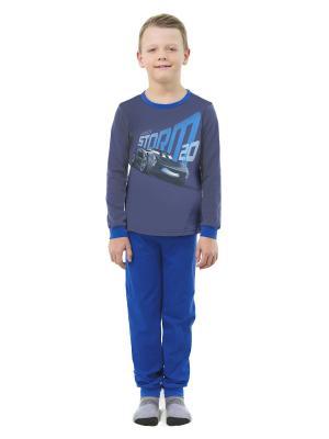 Пижама Disney. Цвет: синий