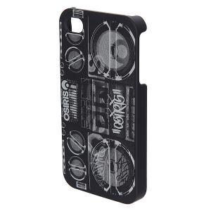 Чехол для iPhone 4  Cover Boombox Black/White Osiris. Цвет: черный,белый