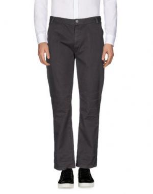 Повседневные брюки JUNK DE LUXE. Цвет: серый
