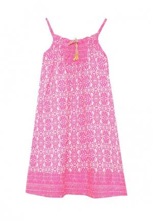 Сарафан United Colors of Benetton. Цвет: розовый