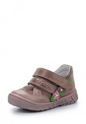 Ботинки Totta. Цвет: бежевый