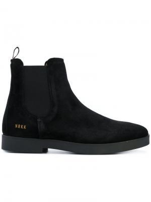 Ботинки Logan Chelsea II Nubikk. Цвет: чёрный