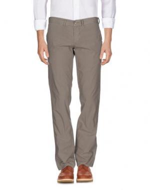 Повседневные брюки DANIELE ALESSANDRINI HOMME. Цвет: хаки