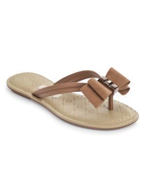 Пантолеты Grendha. Цвет: коричневый