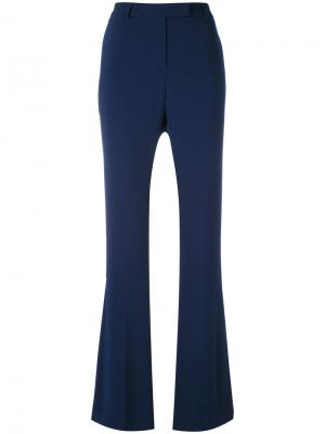 Nellie flared trousers Ql2. Цвет: синий