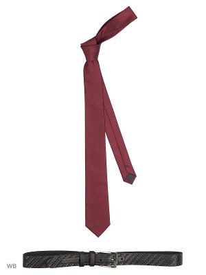 Ремень Stilmark. Цвет: черный, бордовый