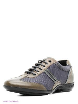 Ботинки Ascot. Цвет: хаки, серый