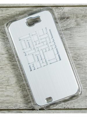 Чехол для телефона SG-Note 2, 7100 MACAR. Цвет: серебристый