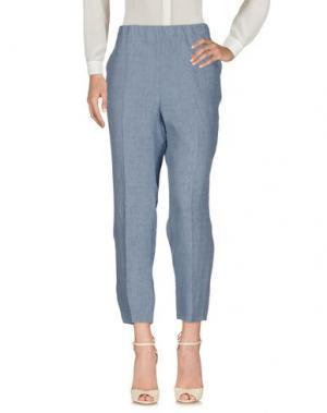 Повседневные брюки KILTIE. Цвет: небесно-голубой
