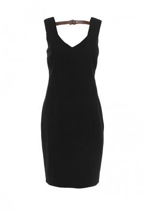 Платье Top Secret. Цвет: черный