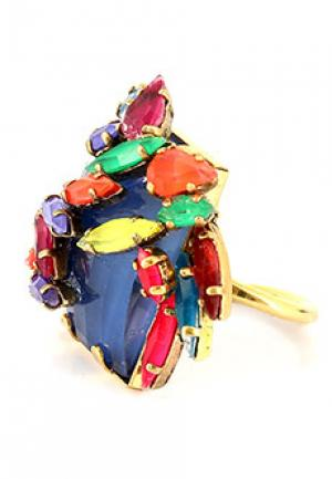 Кольцо ERICKSON BEAMON. Цвет: разноцветный