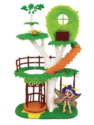 Набор: Фея Вольтесса и Домик-дерево Lanard. Цвет: синий, желтый, зеленый, оранжевый, фиолетовый
