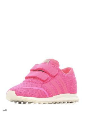 Кроссовки LOS ANGELES Adidas. Цвет: розовый