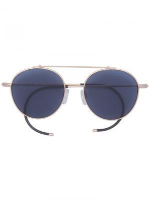 Солнцезащитные очки XOA - ZERO Epøkhe. Цвет: металлический