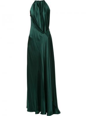 Вечернее платье Isabella Bianca Spender. Цвет: зелёный