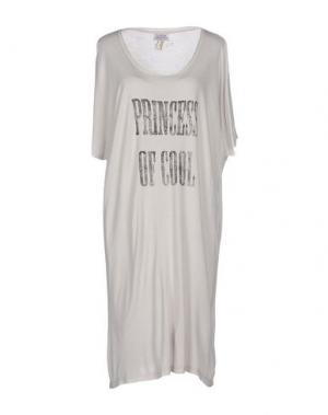Короткое платье RA-RE. Цвет: светло-серый