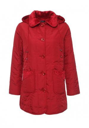 Куртка утепленная Relax Mode. Цвет: красный