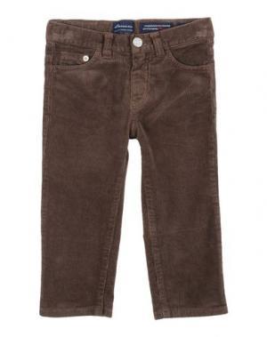 Повседневные брюки BARNUM. Цвет: темно-коричневый