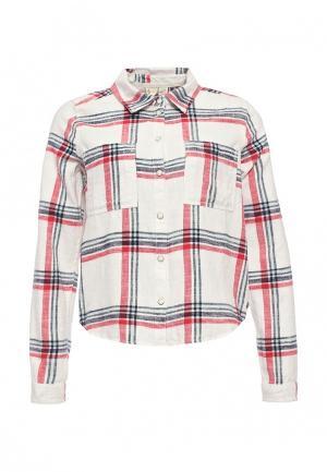 Рубашка Roxy. Цвет: белый