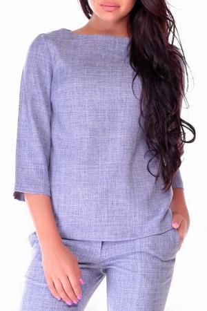 Блуза Laura Bettini. Цвет: фиолетовая дымка