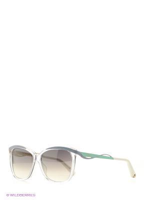 Солнцезащитные очки CHRISTIAN DIOR. Цвет: прозрачный, черный