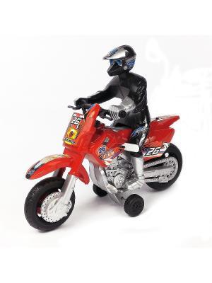Мотоцикл Азбука Тойс. Цвет: красный