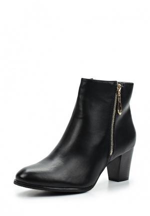 Ботильоны Style Shoes. Цвет: черный