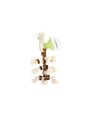 Игрушка для птиц Zoobaloo. Цвет: коричневый