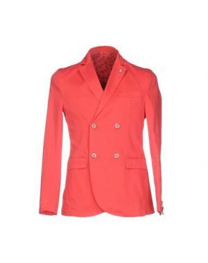 Пиджак BARBATI. Цвет: коралловый