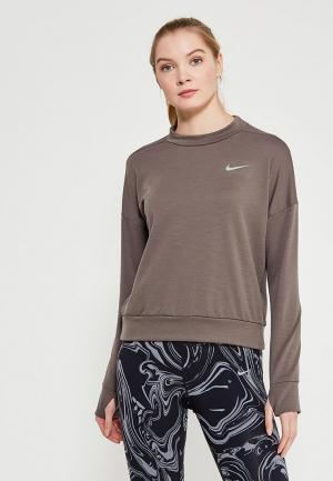 Свитшот Nike. Цвет: коричневый