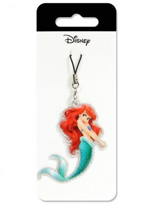 Брелок дисней усалочка ариэль Disney. Цвет: голубой, бежевый, красный