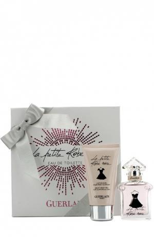 Набор: Туалетная вода La Petite Robe Noir + лосьон для тела Guerlain. Цвет: бесцветный
