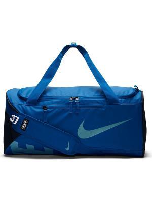 Сумка ALPH ADPT CRSSBDY DFFL-M Nike. Цвет: синий, бирюзовый