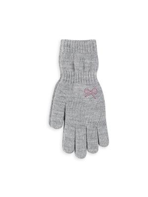 Перчатки Веселый ветер. Цвет: серый
