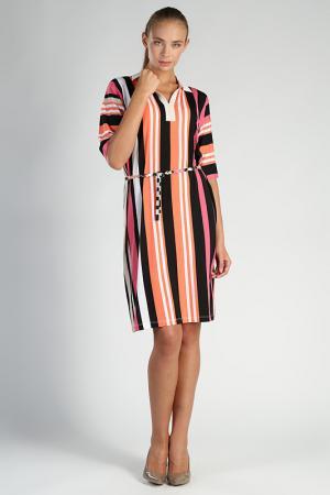 Платье Carla B. Цвет: розовый