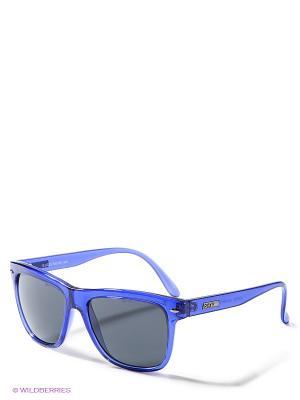 Солнцезащитные очки ROXY. Цвет: синий, черный