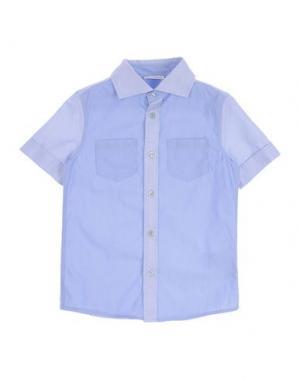 Pубашка DOLCE & GABBANA. Цвет: небесно-голубой