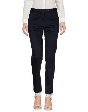 Повседневные брюки EMISPHERE. Цвет: темно-синий