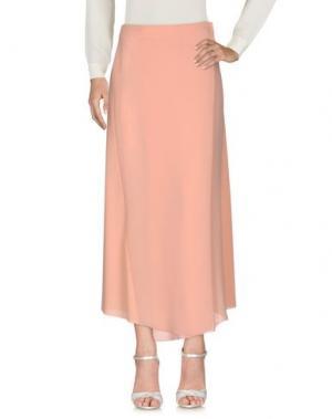 Длинная юбка FABRIZIO LENZI. Цвет: розовый