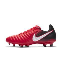Футбольные бутсы для игры на твердом грунте школьников  Jr. Tiempo Legend VII Nike. Цвет: красный