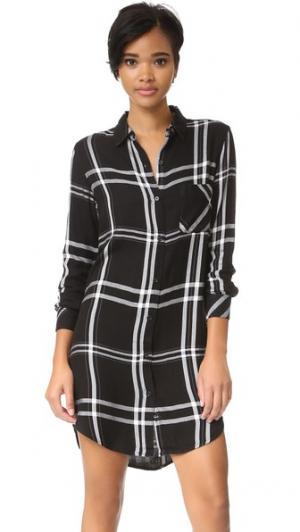 Платье Bianca RAILS. Цвет: насыщенный черный/белый
