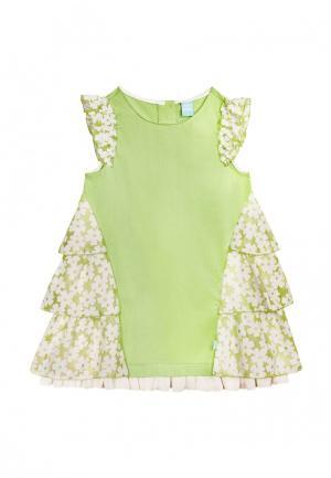 Платье AnyKids. Цвет: зеленый