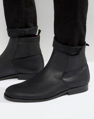 Zign Кожаные ботинки Jodphur. Цвет: черный