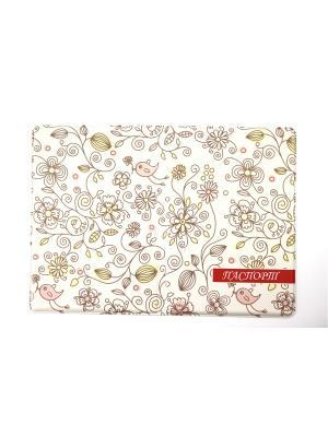 Обложка для паспорта 1Azaliya. Цвет: белый