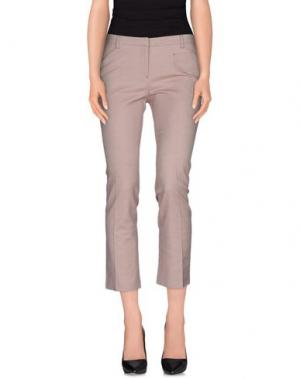 Повседневные брюки FABERGE&ROCHES. Цвет: пурпурный