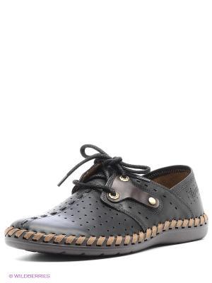 Ботинки Spur. Цвет: черный, коричневый